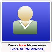 FAHRA Individual Membership /New and non-SHRM Member - $45